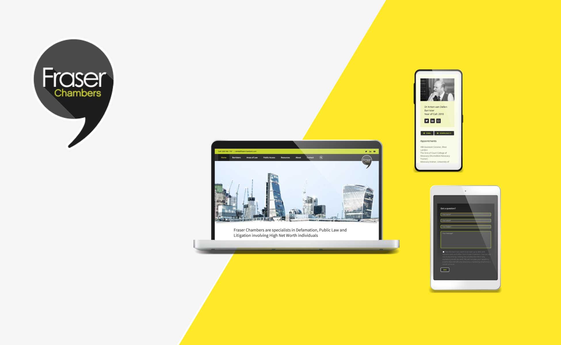 Fraser Chambers Website Design