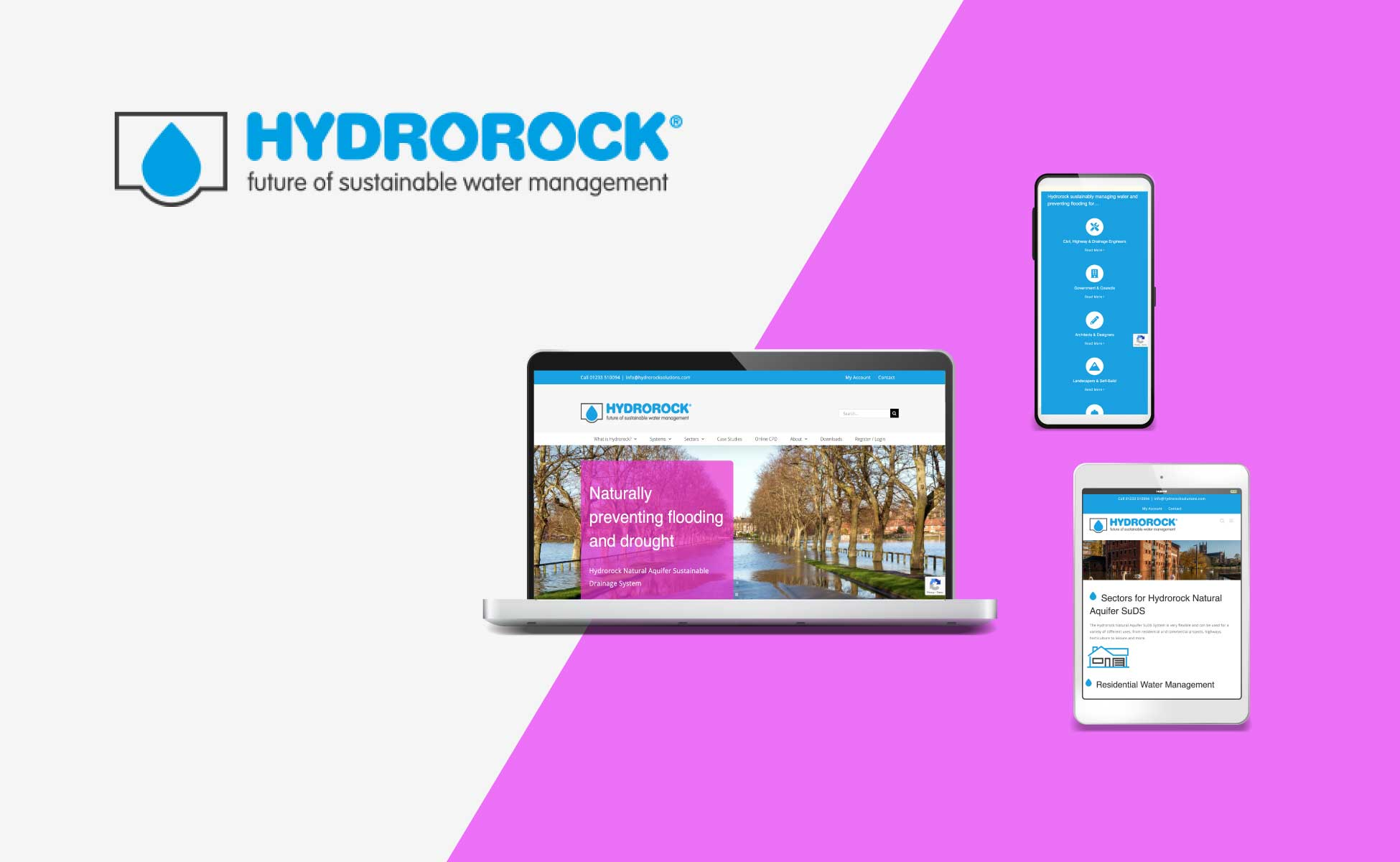 Hydrorock Solutions Website Design