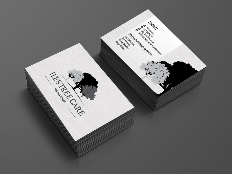 Business card design UK