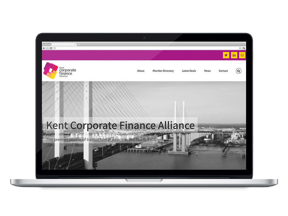 KCFA Website Design