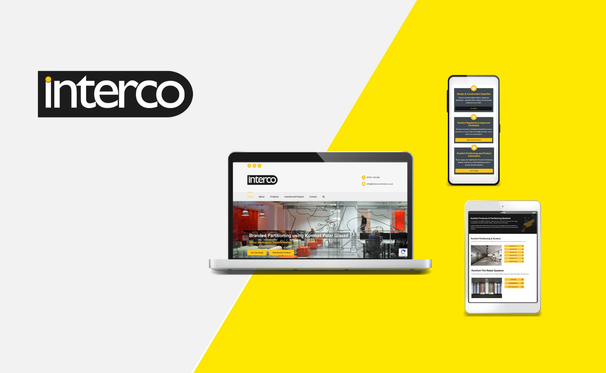 Website Design Interco Contracts